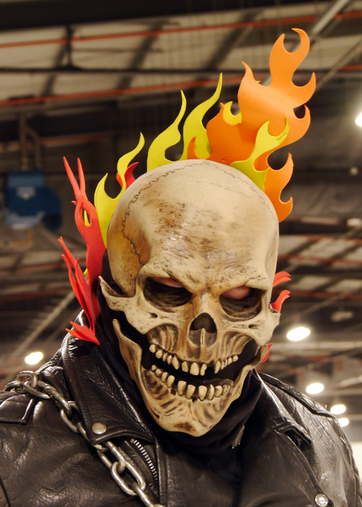 Marvel Comics Ghost Rider Cosplay