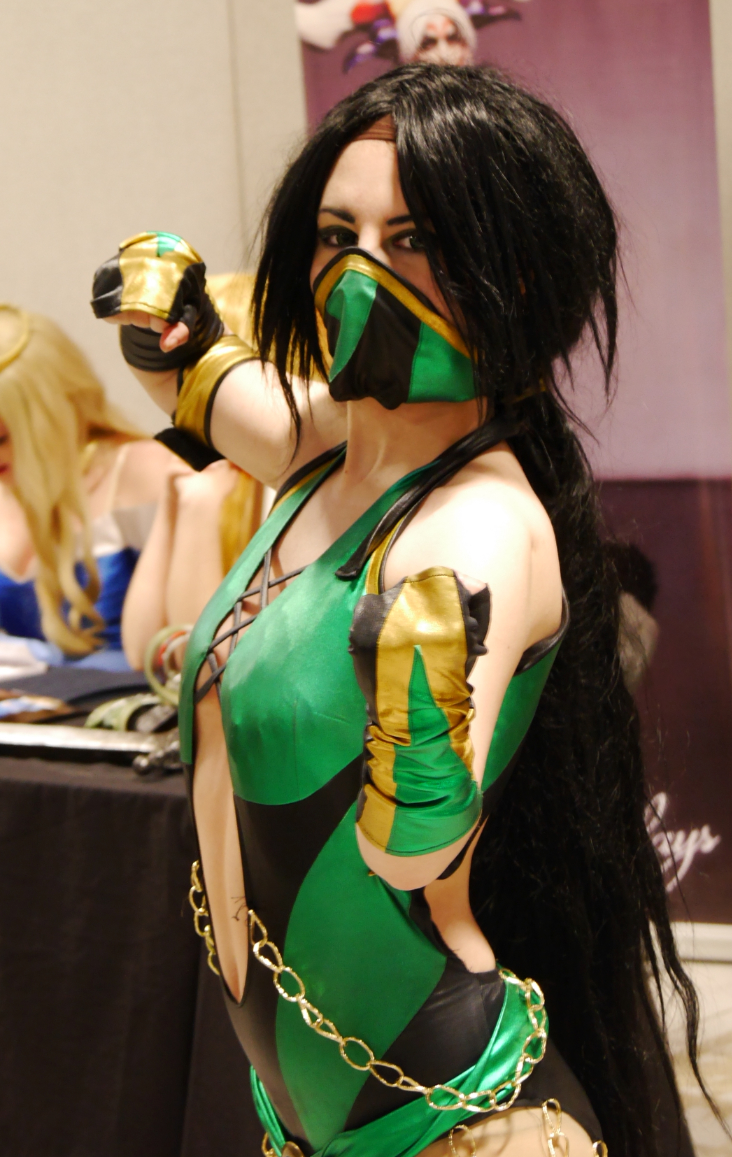 Jade from the Mortal Kombat video games.