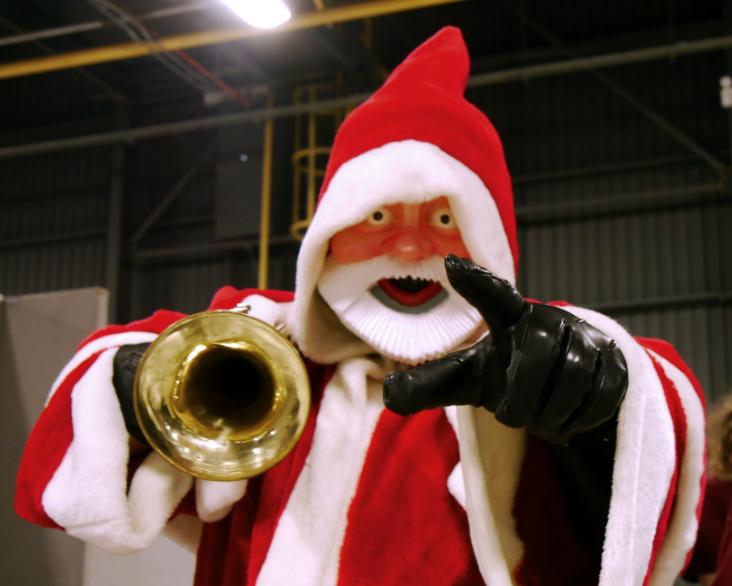 Robot Santa from Dr Who